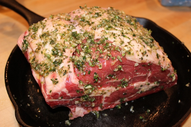 how to cook a ribeye roast in the oven