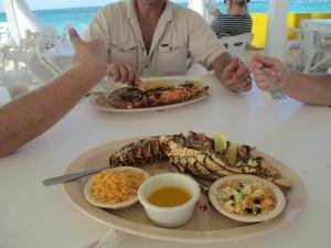 Anegada Lobster 2012