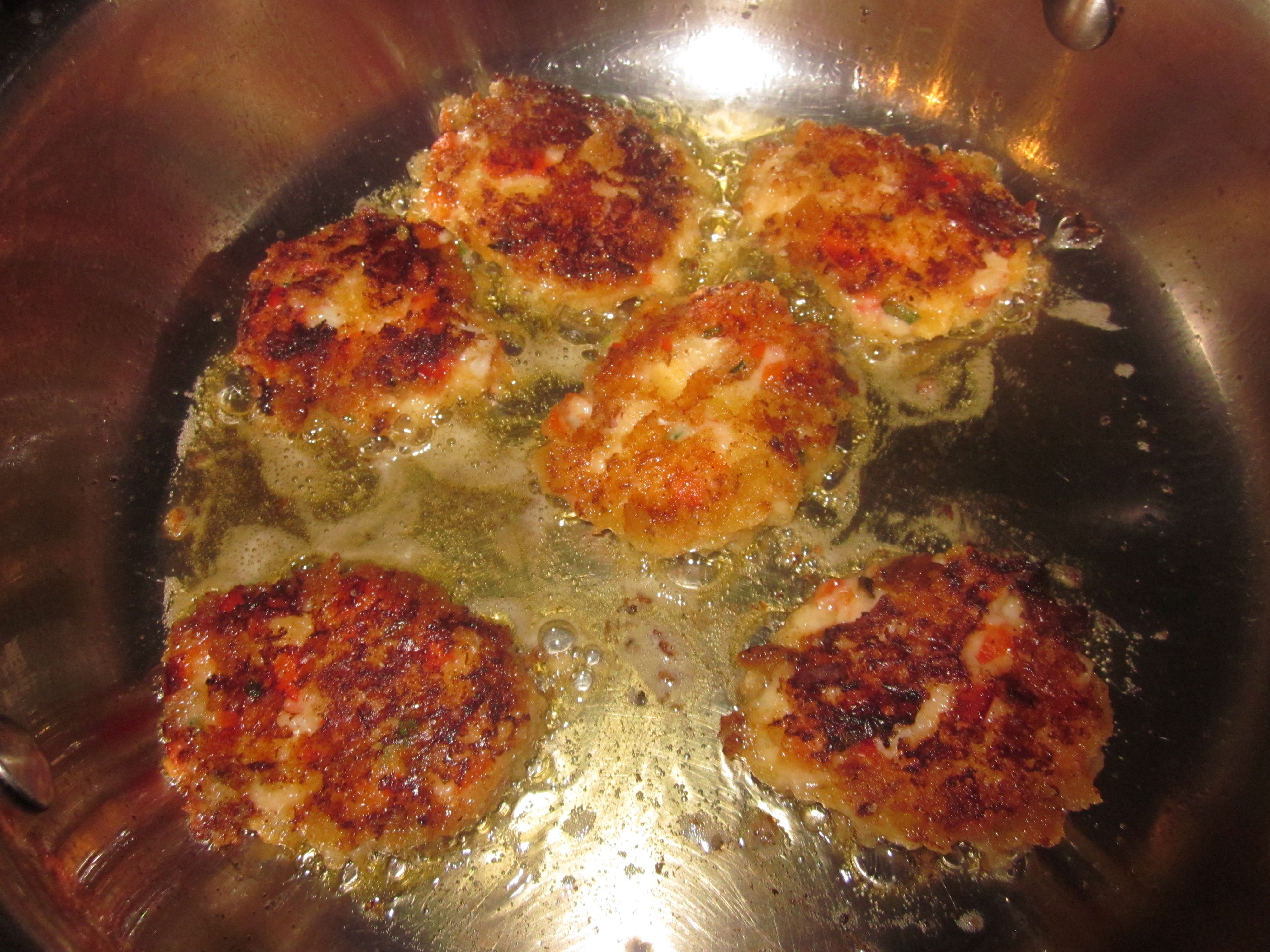 Freeze Cooked Crab Cakes