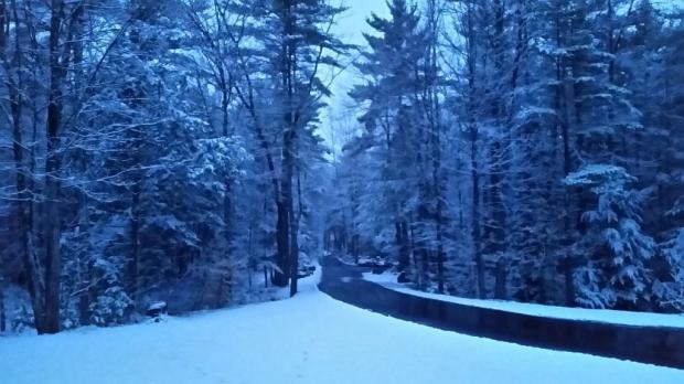 Snow April 3rd